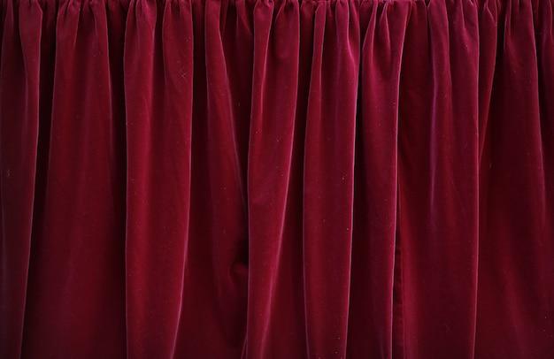 Fundo vermelho da textura da tela da tartã.