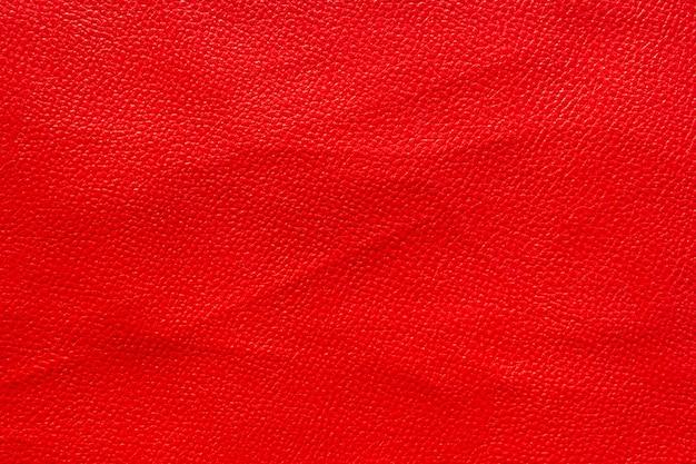 Fundo vermelho de textura de couro
