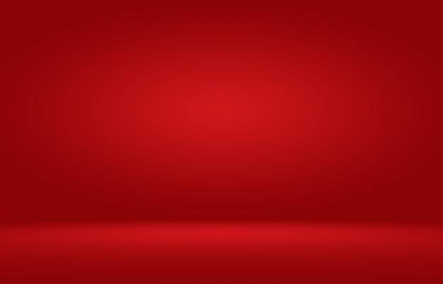 Fundo vermelho liso abstrato.