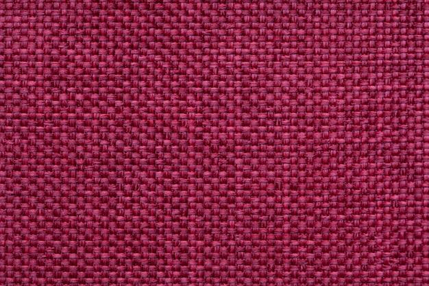 Fundo vermelho têxtil com padrão quadriculada