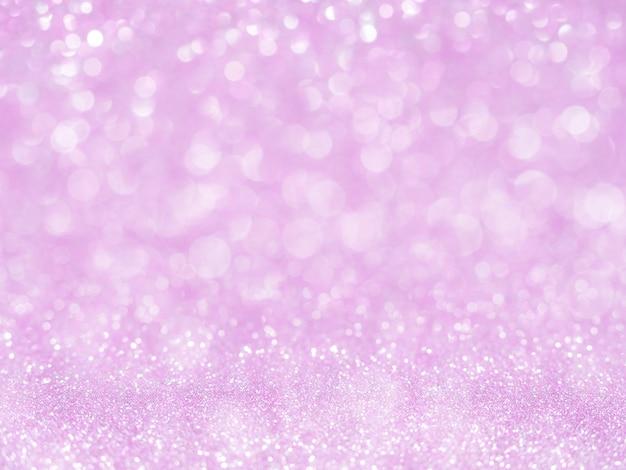 Fundo violeta abstrato glitter com bokeh.