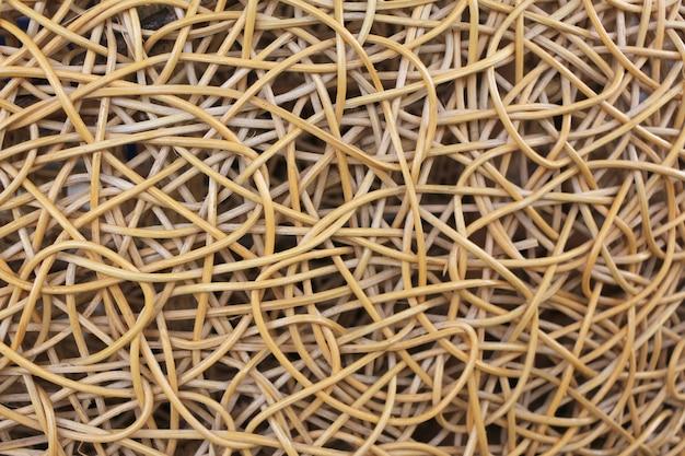 Fundos abstratos e textura de madeira cestaria