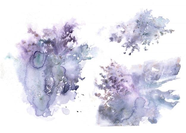 Fundos abstratos violetas.