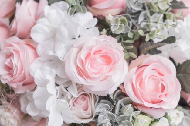 Fundos de flores de buquê