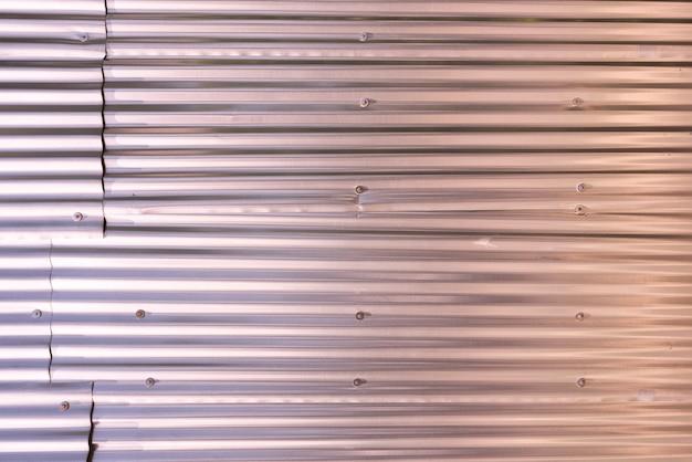 Fundos de parede de painéis de metal