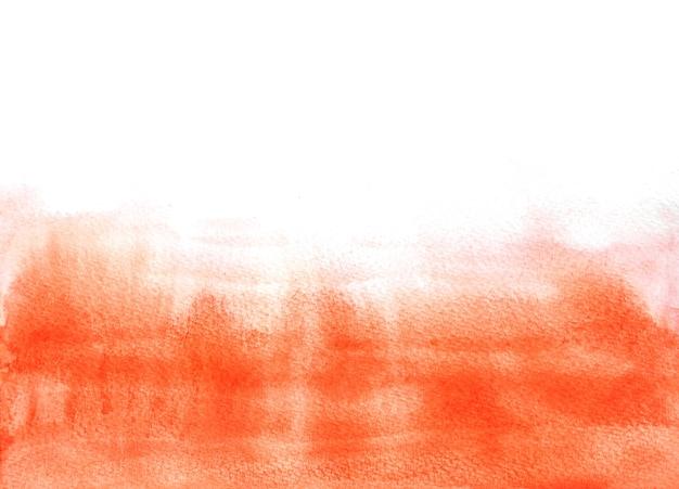 Fundos vermelhos abstratos da aguarela, pintura da mão no papel.