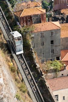 Funicular guindais operado pela empresa metro do porto