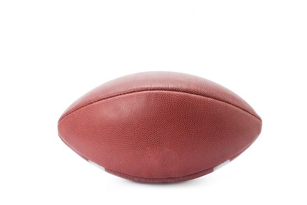 Futebol americano isolado em um branco