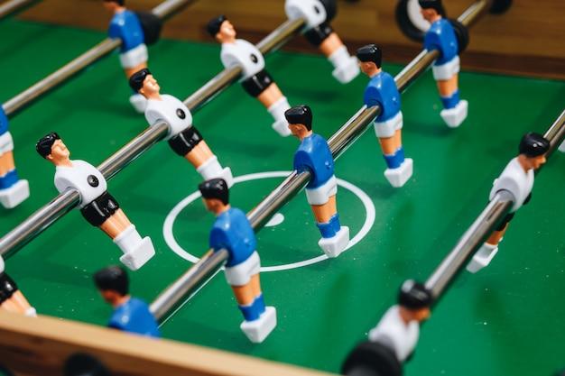 Futebol de mesa de pebolim