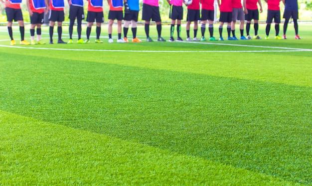 Futebol de salão, campo de futebol relva artificial
