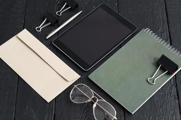Gadgets e material de escritório