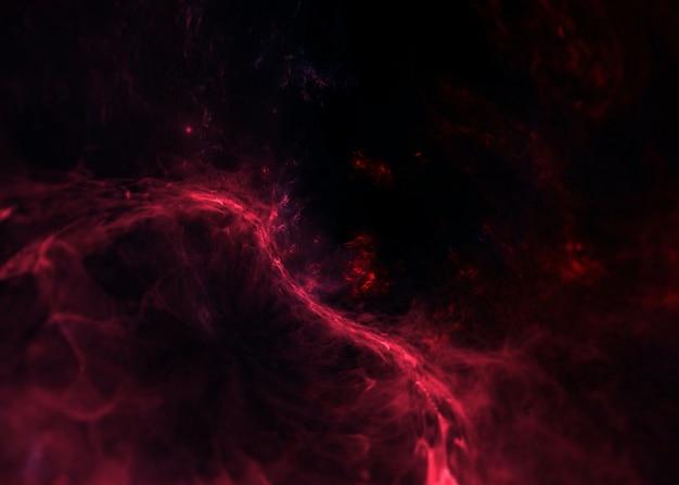 Galáxia e estrelas foto premium, buraco negro fundo do espaço com estrelas brilhantes, poeira estelar e nebulosa. cosmos realistas. galáxia colorida com a via láctea e o planeta.