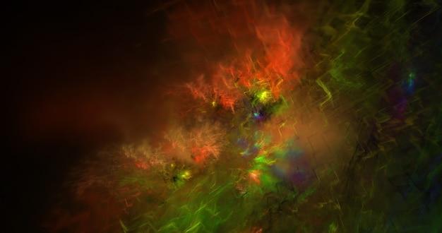 Galáxia nebulosa realista útil como pano de fundo