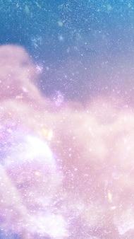 Galáxia no plano de fundo texturizado do espaço
