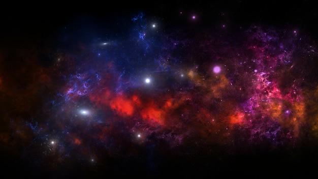 Galáxia um sistema de milhões ou bilhões de estrelas