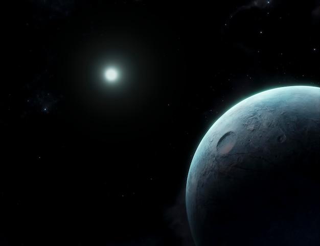 Galaxy noite panorâmica