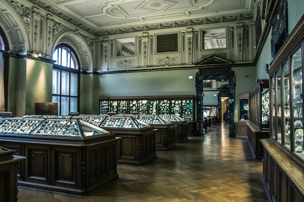 Galeria de exposições do museu