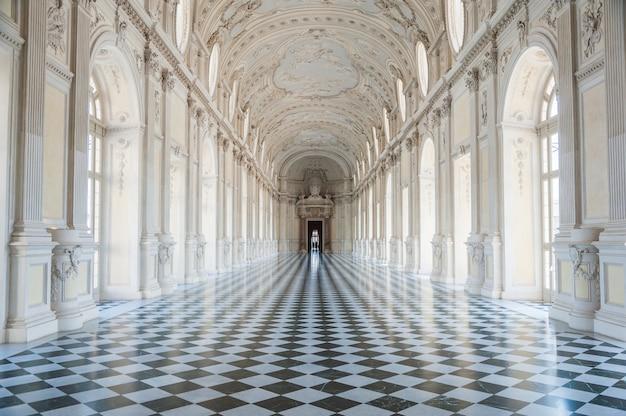 Galeria do palácio real de venaria reale