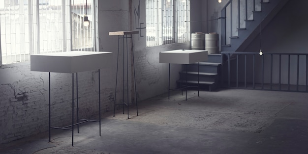 Galeria rústica moderna