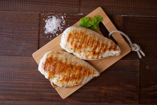 Galinha, gourmet, saboroso, pollo, foodie