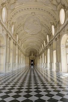 Galleria grande em venaria reale