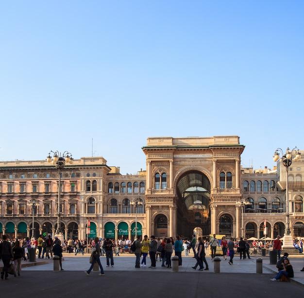 Galleria vittorio emanuele ii, milão
