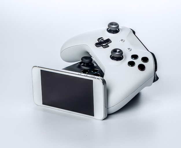 Game pad com smartphone
