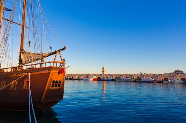 Gandia porto puerto valencia no mediterrâneo espanha