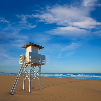 Gandia praia em valência da espanha