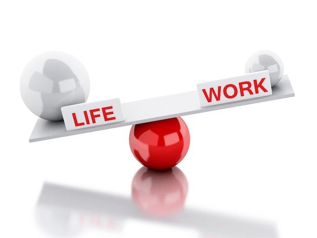Gangorra equilibra vida e trabalho