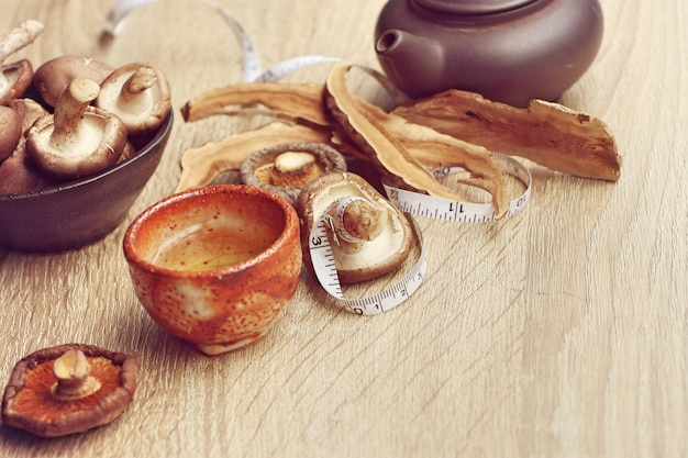 Ganoderma lucidum chá quente