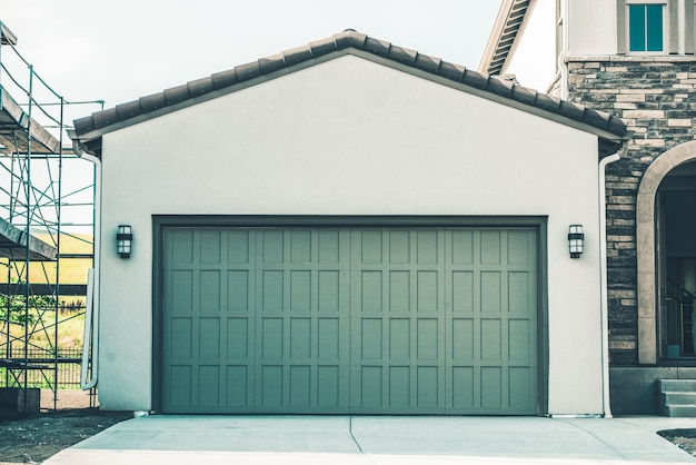 Garagem de dois carros