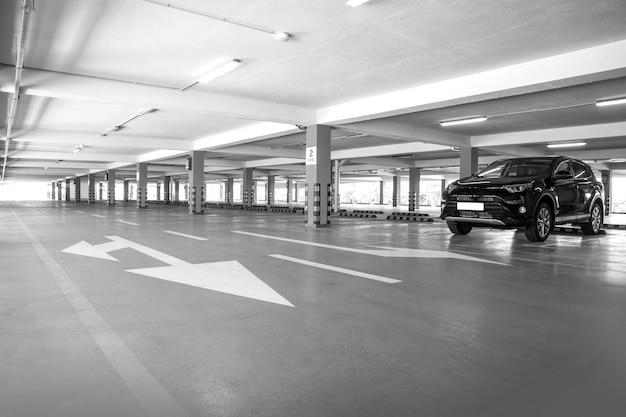 Garagem de estacionamento