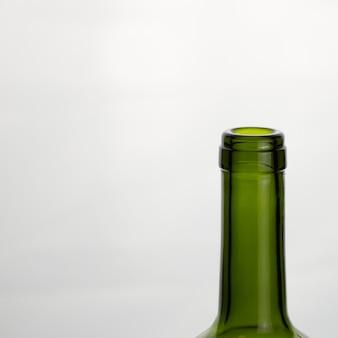 Gargalo de vidro verde