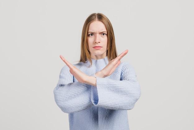 Garota enfurecida