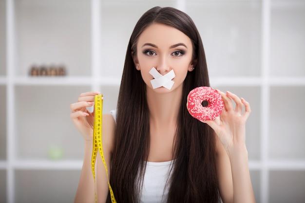 Garota não come junk food