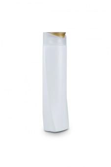 Garrafa de plástico branco