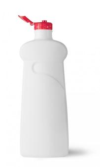 Garrafa de plástico com tampa