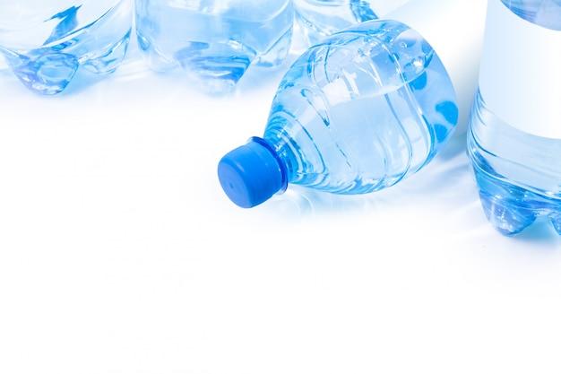 Garrafa de plástico de água