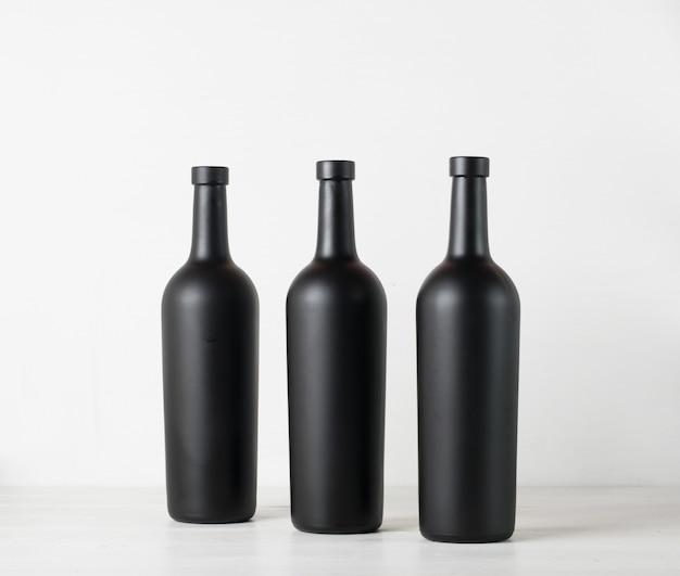 Garrafa de vinho branco