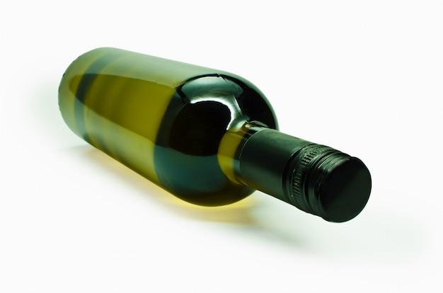 Garrafa de vinho.