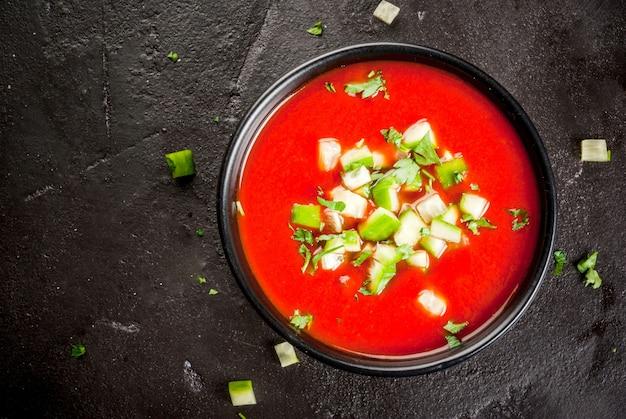 Gaspacho de sopa de verão