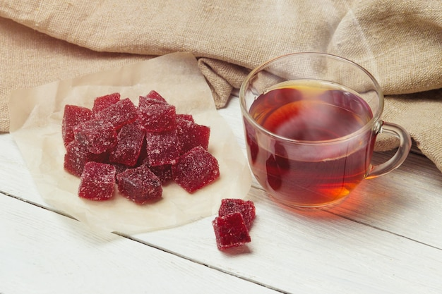 Geléia de cranberry caseira