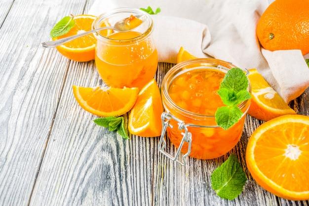 Geléia de laranja caseira