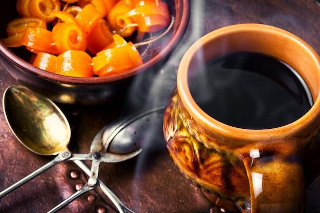 Geléia de laranja para chá