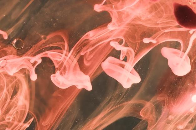 Geléias do mar vapor