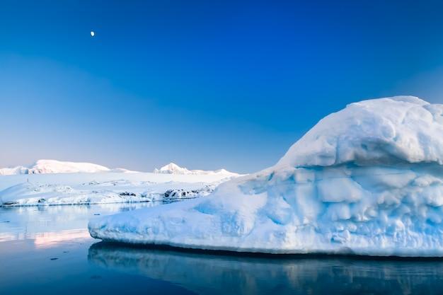 Geleira antártica