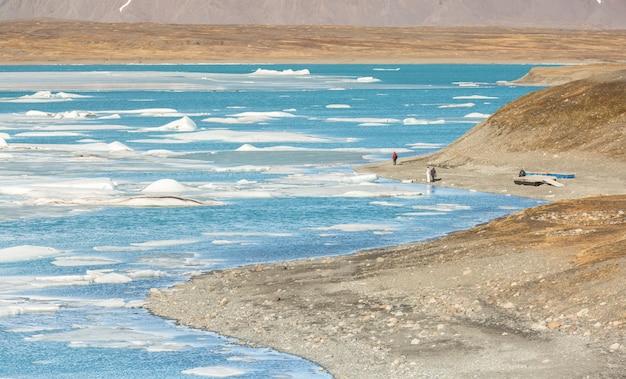 Geleira de vatnajokull islândia