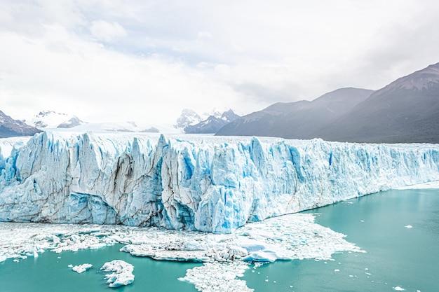 Geleira perito moreno na patagônia, argentina