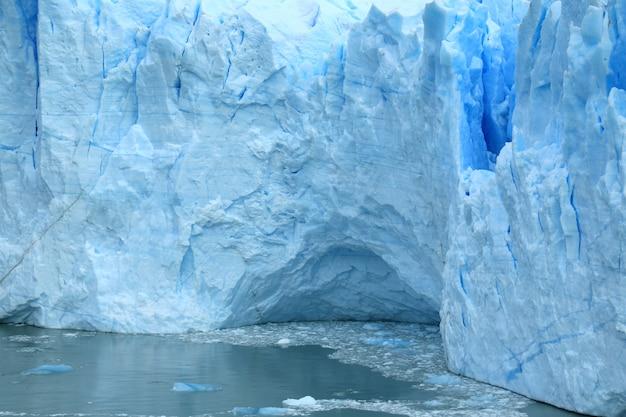 Geleira perito moreno no lago argentino, el calafate, patagônia, argentina